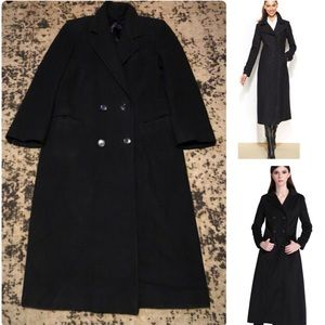 Marshall Fields Cashmere Double Breasted Maxi Coat